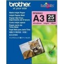 Brother BP60MA3 Inkjet papier MAT A3, 25 vel [art.9310]
