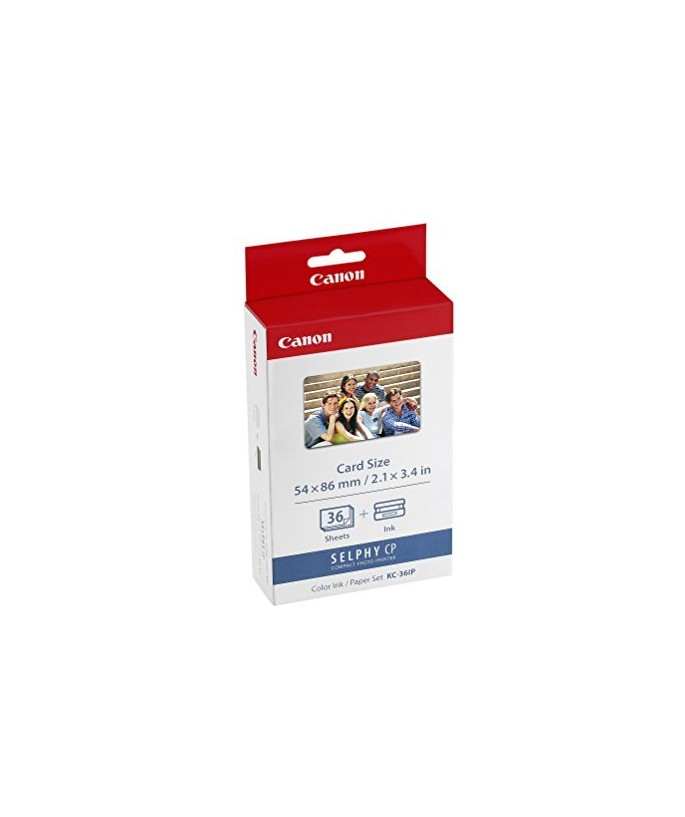 Canon KC-36IP photo paper inktjet 54x86mm 36 sheets 10-pack with color ink cartridge f [art.19020]