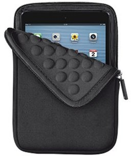 Trust 8-Inch  Anti-shock Bubble Sleeve for tablets - black