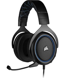 Corsair HS50 PRO STEREO Gaming Headset — Blue