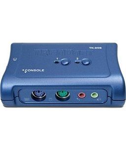 TrendNet TK-209K KVM 2-port VGA USB + audio switch incl. cables