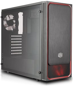 Cooler Master MasterBox E500L Rood (window)