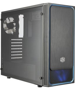 Cooler Master MasterBox E500L Blauw (window)