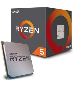 AMD Ryzen 5 2600X Wraith Boxed 6-Core 3.6-4.2GHz 95W sAM4