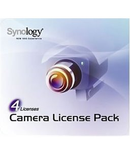 Synology Camera License Pack 4x Retail