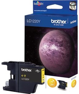 Brother LC-1220 inktcartridge Yellow standard capacity 300 pagina's blister