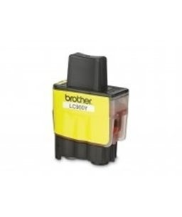 Brother LC-900 inktcartridge Yellow standard capacity 400 pagina's 1-pack blister
