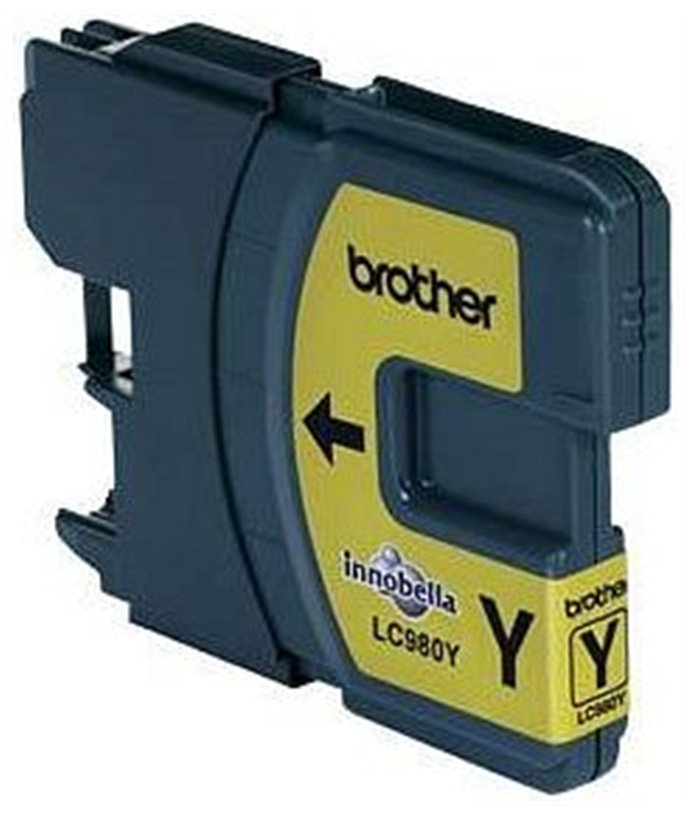 Brother LC-980 inktcartridge Yellow standard capacity 5.5ml 260 pagina's 1-pack blister