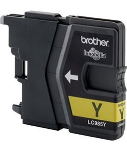 Brother LC-985 inktcartridge Yellow 260 pagina's 1-pack blister
