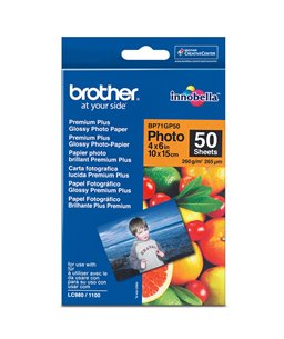 Brother BP71GP50 Glossy foto papier 10x15 cm, 50 vel