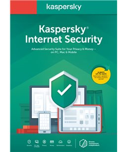 Kaspersky Internet Security 1U/1D/1J Retail