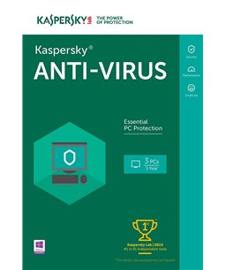 Kaspersky Anti-Virus 1U/3D/1J Retail