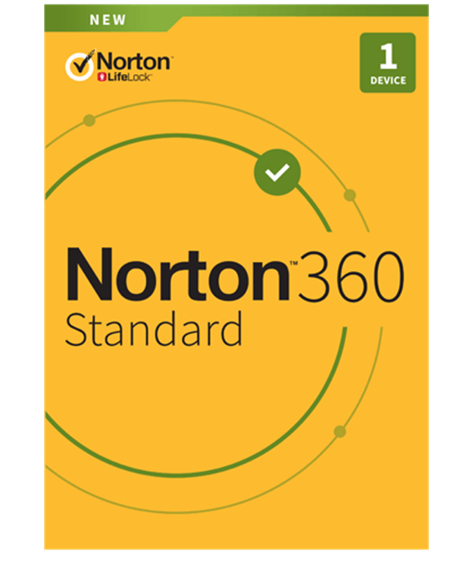 NortonLifeLock Norton 360 Standard 10GB - 1U /1D / 1J Retail