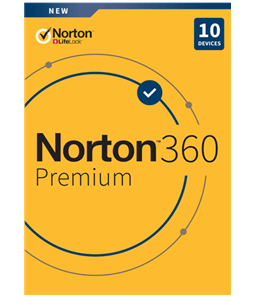 NortonLifeLock Norton 360 Premium 75GB - 1U /10D / 1J Retail