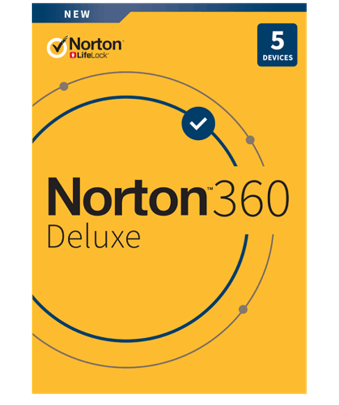 NortonLifeLock Norton 360 Deluxe 50GB - 1U / 5D / 1J Retail