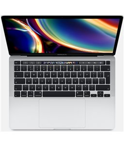 Apple MacBook Pro 13-inch Touch Bar 2.0GHz 16GB 512GB Zilver