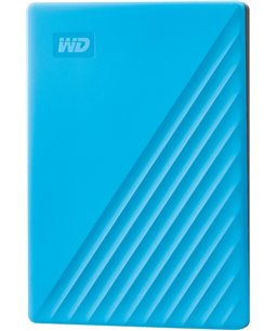 Western Digital My Passport 2TB Portable - Blauw
