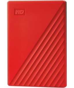 Western Digital My Passport 2TB Portable - Rood