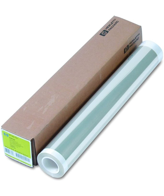 HP Clear Film 174g/m2 - 24-Inch  / 610mm x 22.9 m