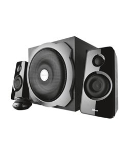 Trust 2.1 Tytan Black Speakerset met subwoofer
