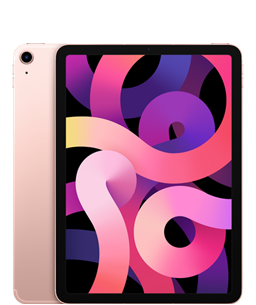 Apple iPad Air 10.9inch 4th Gen WiFi + Cellular 256GB Rose Gold