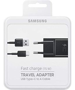 Samsung Fast Charge (15W) Travel Adapter + USB type-c naar A kabel