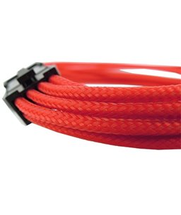 Gelid 6+2 Pin PCI-E Extension Cable - Red 30CM