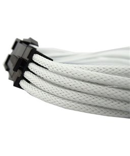 Gelid 6+2 Pin PCI-E Extension Cable -UV White 30