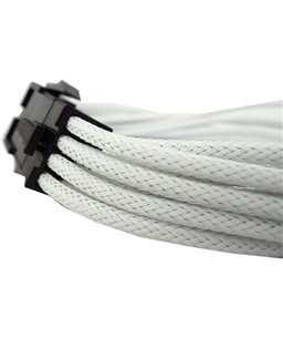 Gelid 8-Pin CPU Extension Cable - UV White 30CM