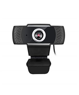 Adesso CyberTrack H4 Webcam 1080P Zwart
