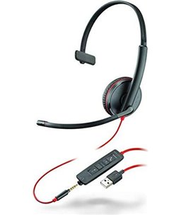Poly Blackwire C3215 Headset USB + 3.5mm