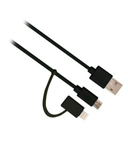 Ewent Lightning Adapter to Micro Usb Including USB Cable