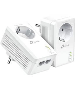 TP-Link AV1000 2-poorts Gigabit Passthrough Powerline Starterset
