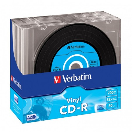 Verbatim 25-pack CD-R AZO 52X 700MB Extra Protection [art.8472]